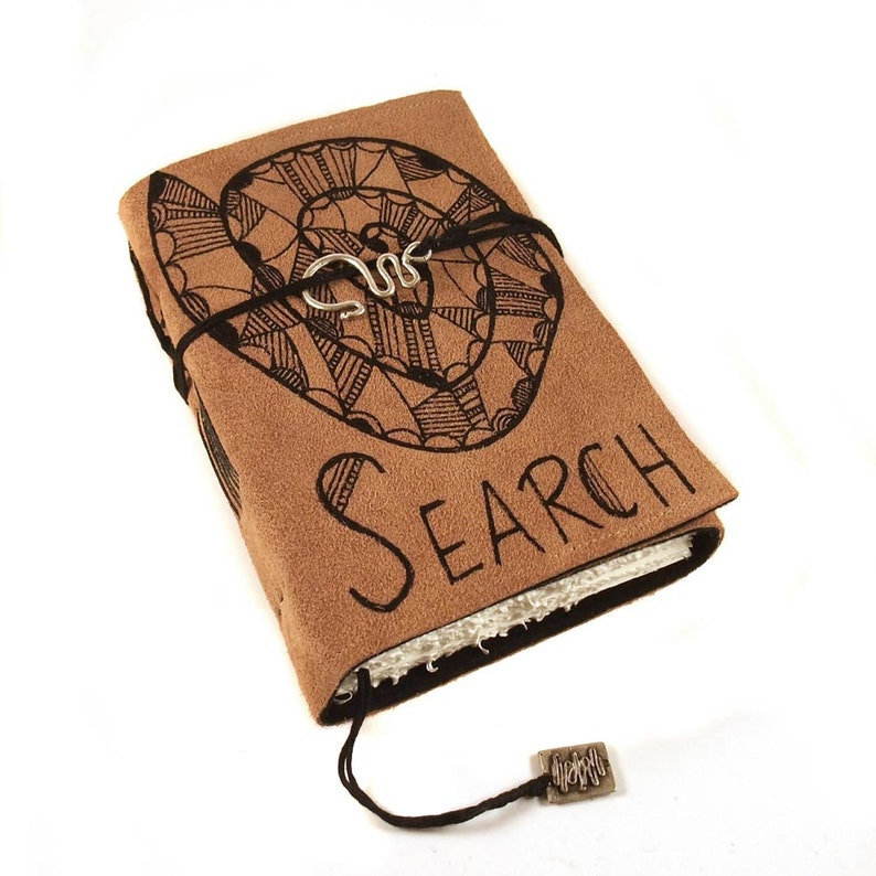 Search Journal Leather Handmade Suede image 0