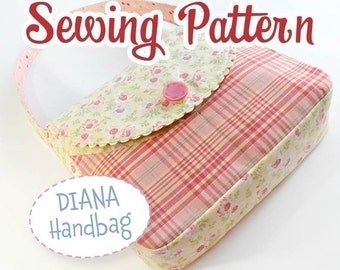 SEWING PATTERN - Handbag - Instant Download