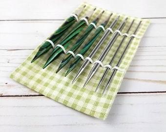 Interchangeable Needle Sleeve - Needle Holder Needle Storage Interchangeable Knitting Needle Holder