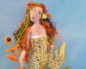 Mermaid Pincushion-Coral