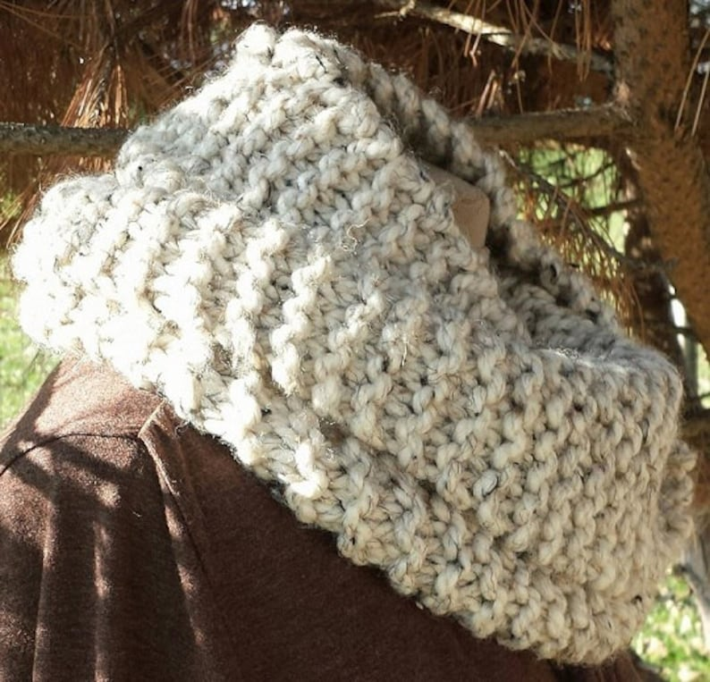 PDF EASY Knitting Pattern for Bulky Cowl Knit on straight ...