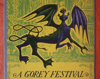 A Gorey Festival (Four volume set) by Edward Gorey