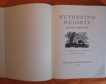 Wuthering Heights by Emily Bronte and Fritz Eichenberg (illustrator)