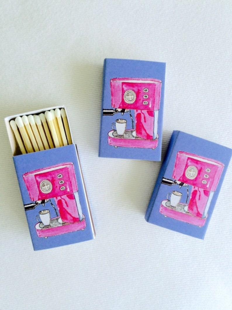 PINK ESPRESSO MACHINE Matches image 0