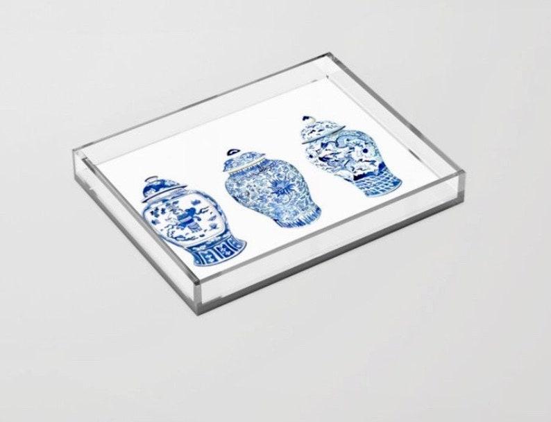 GINGER JAR TRIO Acrylic Tray image 0