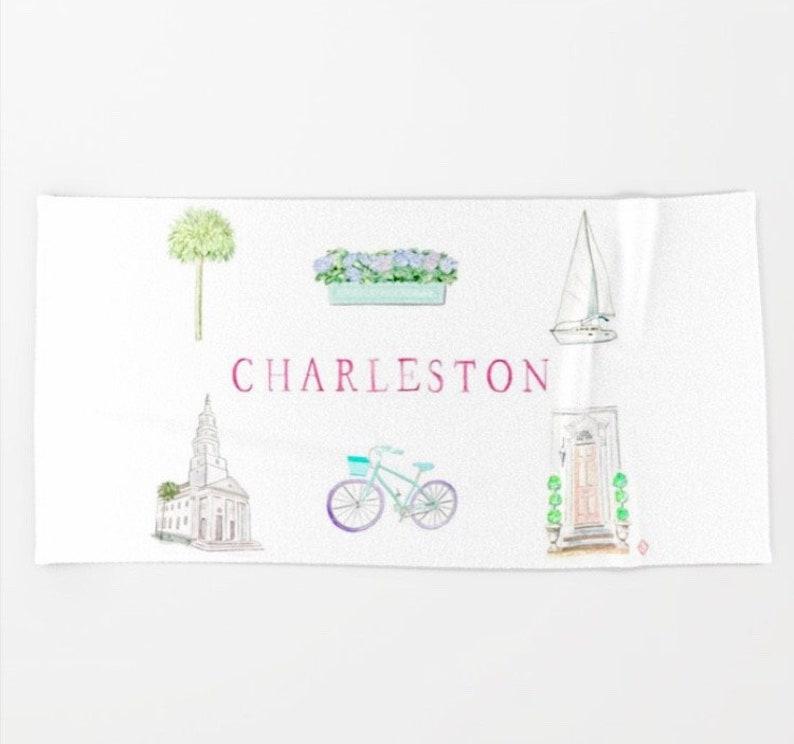 CHARLESTON BEACH Towel image 0