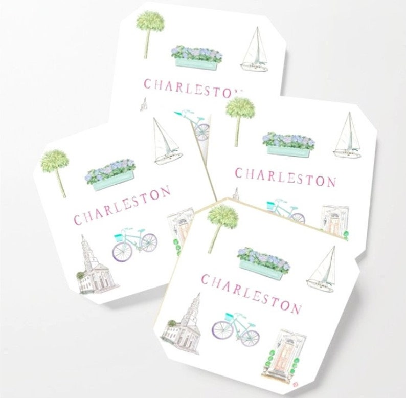 CHARLESTON COASTERS image 0