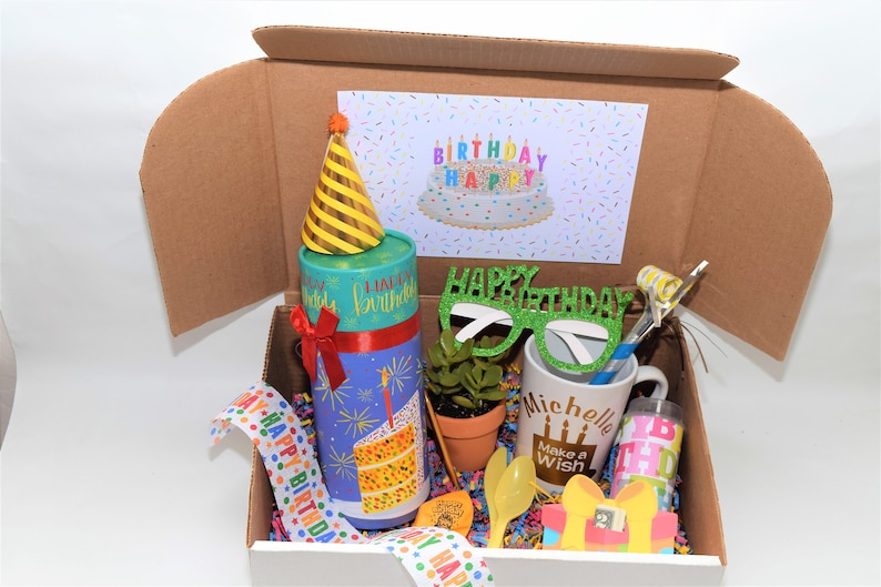 Birthday In A Box Gift Happy