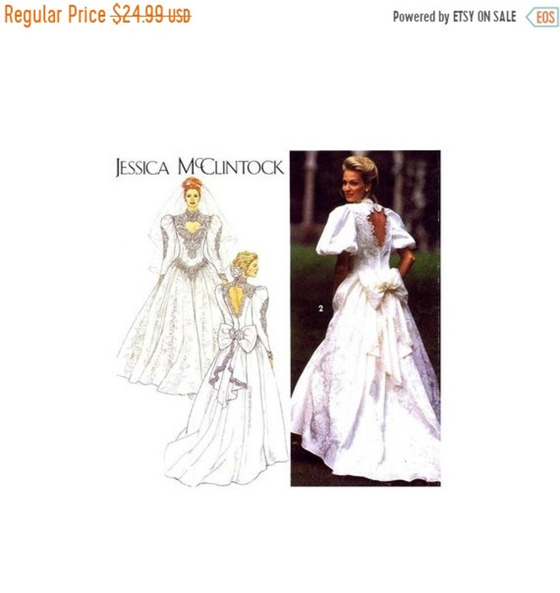 7eb3d425b1 SALE Jessica McClintock Brides Dress Designer Wedding Gown