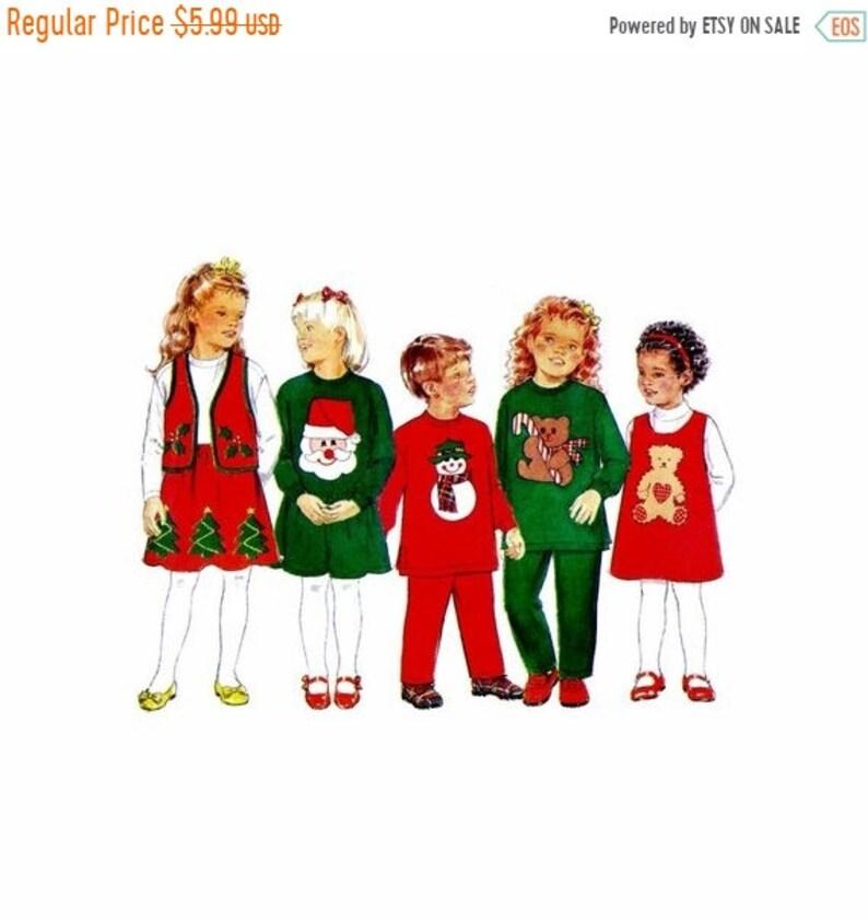 9691ecc25ded SALE Girls and Boys Christmas Dress Top Jumper Vest Skirt | Etsy