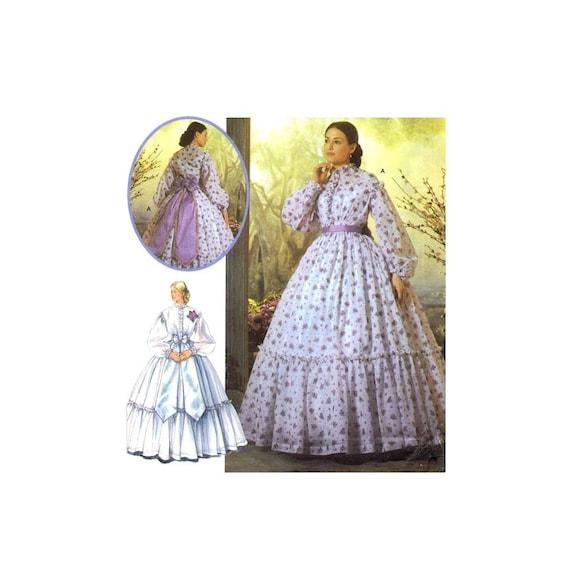 Bürgerkrieg südlichen Bell Kleid Hochzeit Reenactment Martha | Etsy