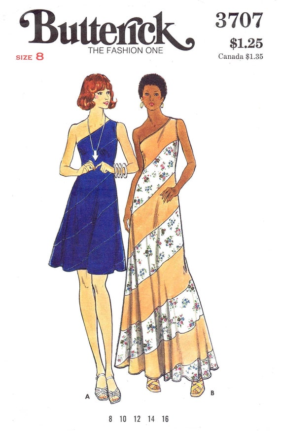 8831 UNCUT McCalls Vintage Pattern Misses Mock Wrap Dress SEWING OOP Fitted SEW