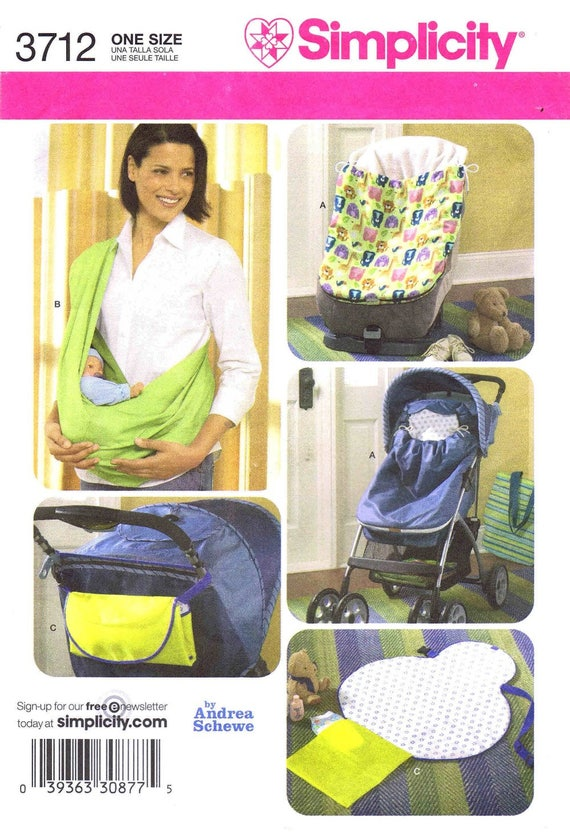 Sale Baby Stroller Car Seat Bunting Sling Travel Changing Pad Etsy