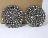 Vintage Cut Steel Earrings SALE