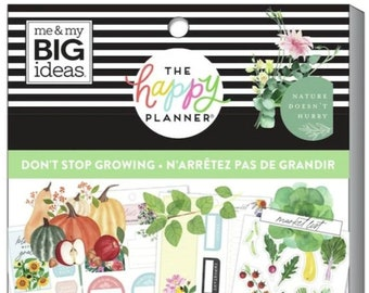 Gardener stickers don't stop growing 712 Create 365™ The Happy Planner™ Sticker value