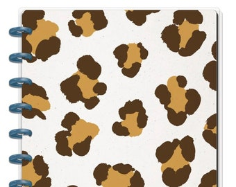 Happy notes leopard notebook dot lined Create 365™ The Classic Happy Planner™