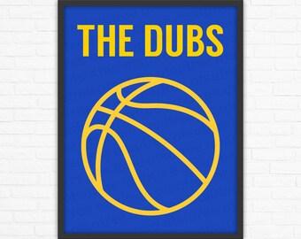 plus de photos 41e81 495d9 Nous sommes dorés: Golden State Warriors Basketball affiche ...