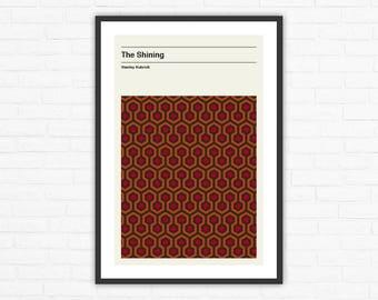 The Shining Carpet Minimalist Movie Poster, Stanley Kubrick