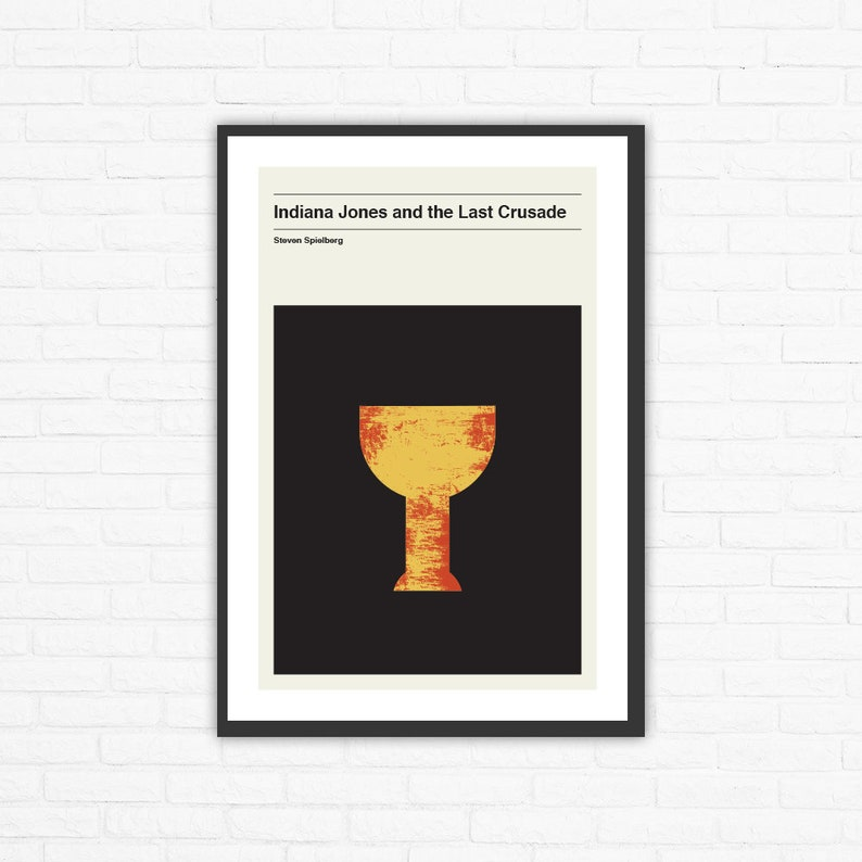 Indiana Jones and the Last Crusade Holy Grail Minimalist Movie image 0
