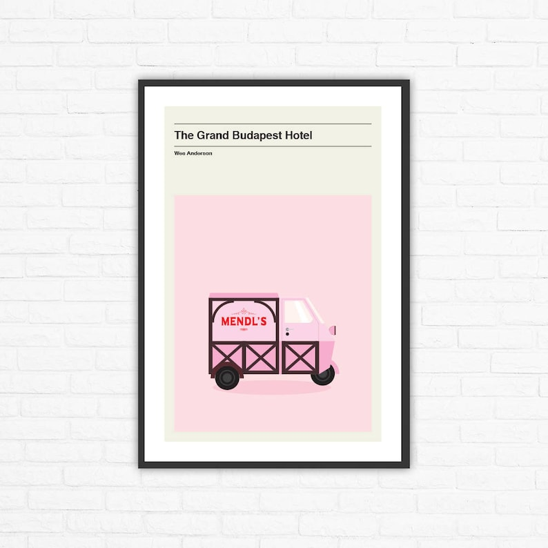 Wes Anderson The Grand Budapest Hotel Mendl's Truck image 0