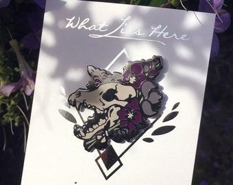 Wolfsbane Wolf [Enamel Pin]