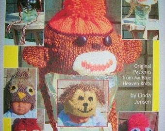 Ear-Flaps and Animal Hats -  Machine Knit Pattern