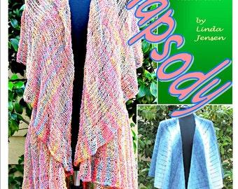 Rhapsody Double Cape Garment - Machine Knit Pattern