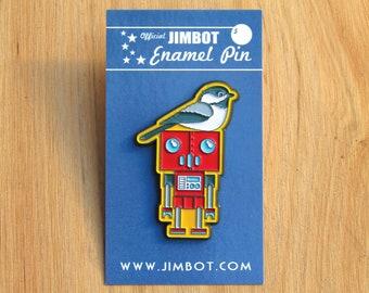 Official JIMBOT Enamel Pin #2