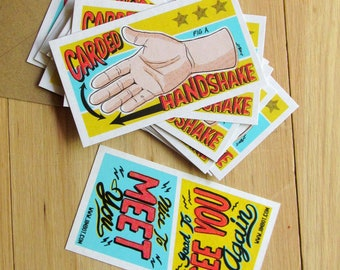 Official JIMBOT Carded Handshakes