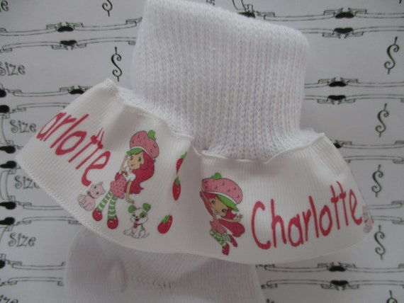 Ruffle Socks Personalized MTM Minnie Pilgrim Thanksgiving Infants Toddlers Girls