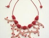 Tilda Coral Necklace II