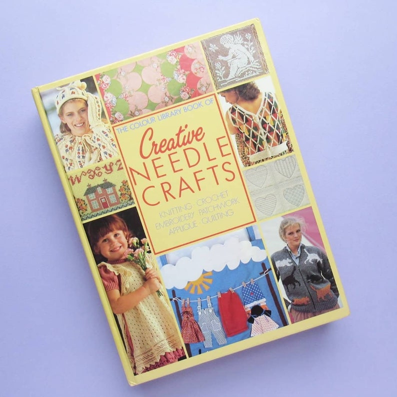 The Colour Library Book of Creative Needle Crafts large image 0