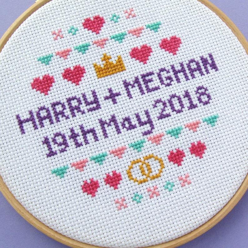 SAMPLE  Royal Wedding 2018 Harry & Meghan kitsch British image 0