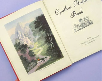 The Cynthia Asquith Book (1948), vintage children's book, illustrated hardback, great for framing or paper crafts, 1940s, illustrations