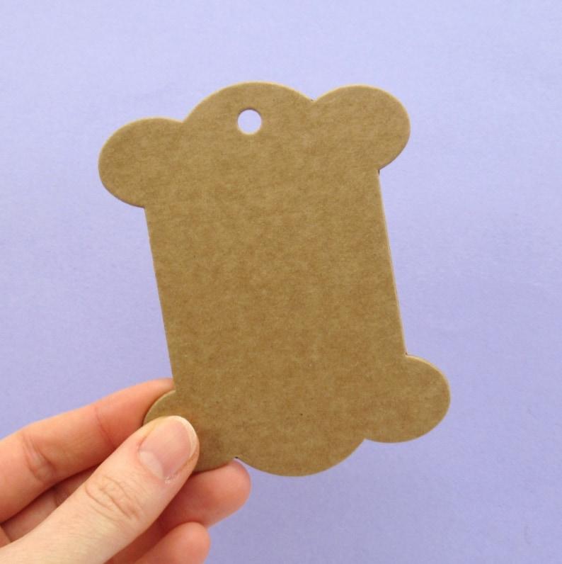 Large Card Bobbins for Winding Yarn Ribbon Twine & More  image 0