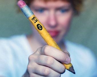 Wool Felt Pencil . 2 HB