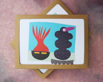 Collage Cards, Series 2 - Boxed Set of 8
