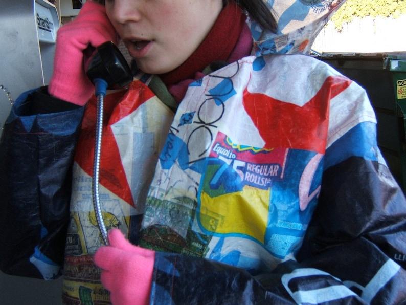 Plastic Bag Rain Jacket image 0