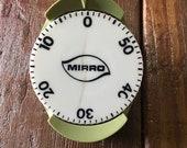 Mirro avocado green kitchen timer