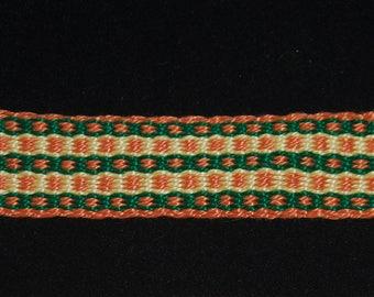 6 metal garters Garter belt Skin-colored elast original Dresden lace size 8-16