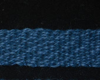 Blue Wool Band for SCA Reenactors  Medieval LARP Rennaisance Civil War 18th Century