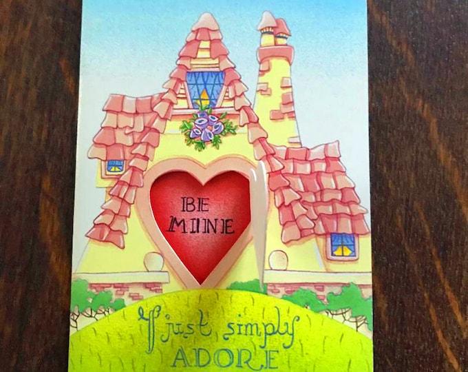 Pop Open Valentine Card  |  Hand Made pop open Valentine | Colorful Fun Card for your Valentine | For Little Kid and Big Kid Vals Valentines
