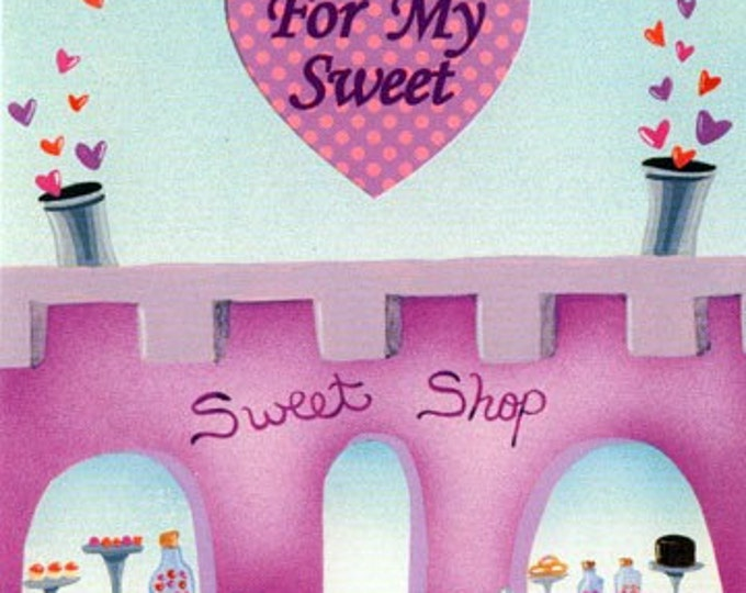 Gift of SWEETS Card | An Extravagant Valentine Dessert GIFT CARD | Gift Certificate for a Fabulous Valentine Dessert | Sweet Treats Card