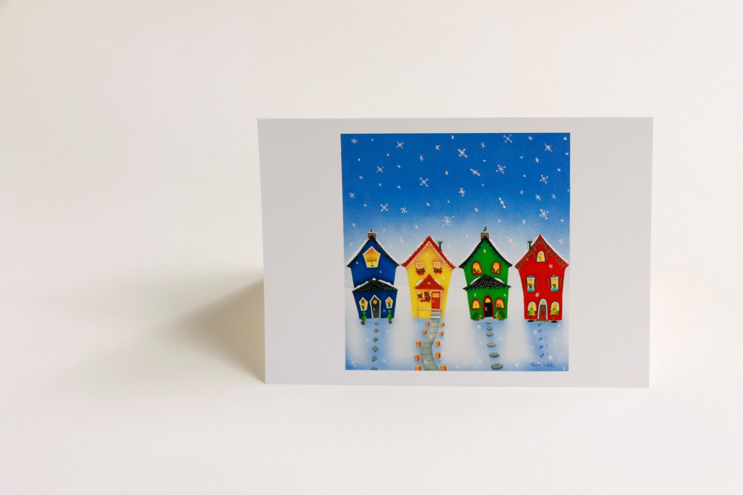 5 Home For The Holidays Greeting Cards Hanukkah Kwanzaa Feliz