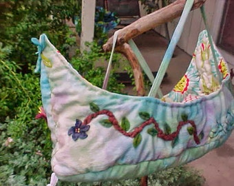 Magical Boat Bed for a Waldorf Doll (Or other Friends)