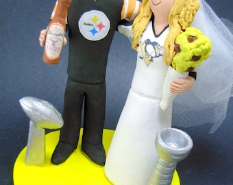 Steelers Football Wedding Cake Topper a287640f0