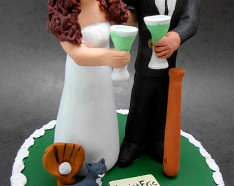Multi Racial Wedding Cake Topper, Latino Wedding Anniversary Gift, Latino / American Wedding Anniversary Gift, BiRacial Wedding Gift