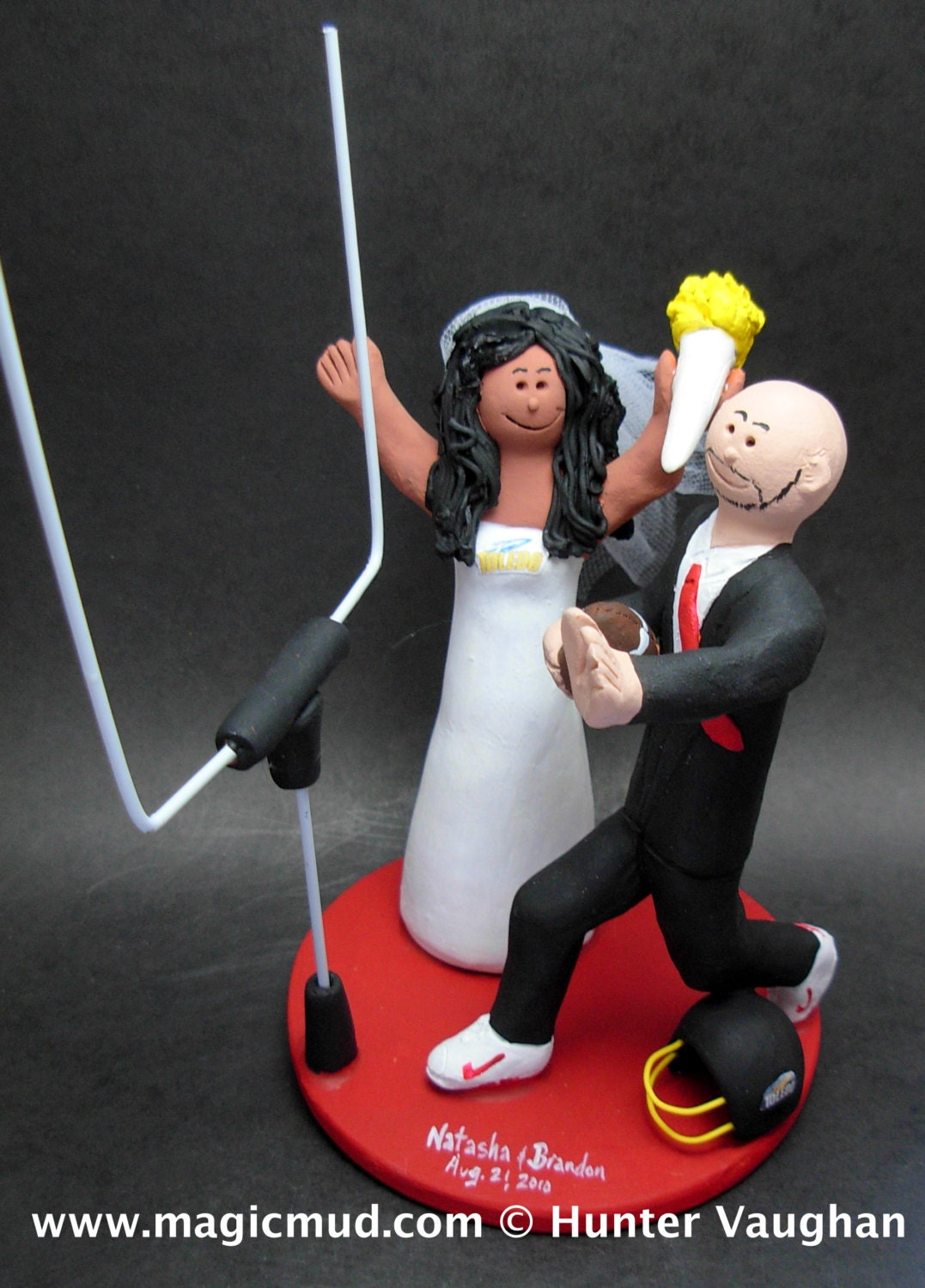Interracial Wedding Cake Toppers, Mixed Race Wedding CakeTopper ...
