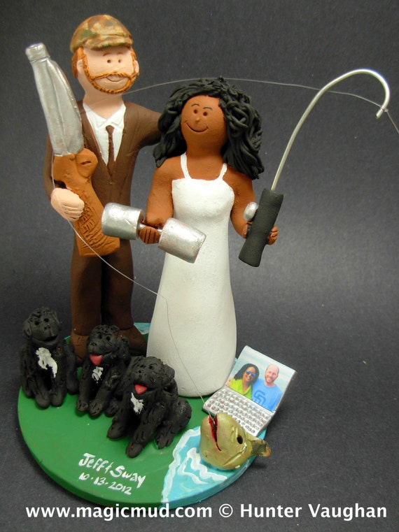 Wedding Cake Topper for a Mixed Race MarriageWedding | Etsy