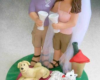 Lesbian Baseball Wedding Cake Topper, Same Sex Wedding Cake Topper, Two Brides Wedding Cake Topper, Gay Women's Wedding Cake Topper